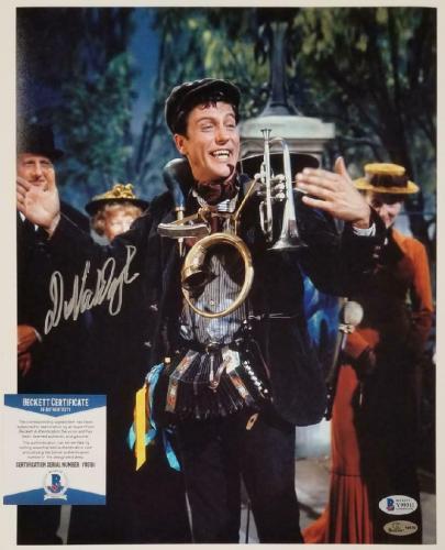 Dick Van Dyke autograph signed Mary Poppins 11x14 Photo #2 Autograph ~ BAS COA