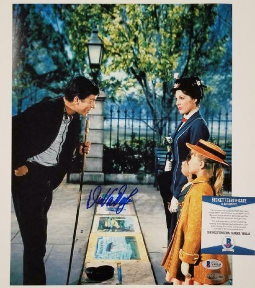 Dick Van Dyke autograph signed Mary Poppins 11x14 Photo #3 Autograph ~ BAS COA