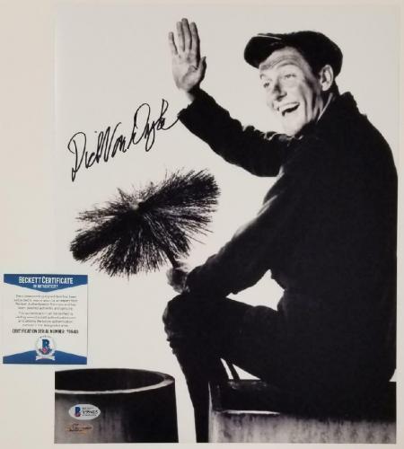 Dick Van Dyke autograph signed Mary Poppins 11x14 Photo #7 ~ BAS COA