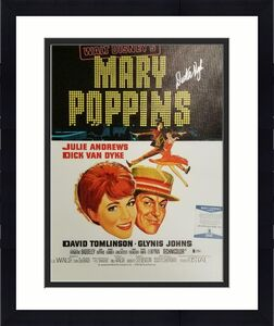 Dick Van Dyke autograph signed Mary Poppins 16x20 Canvas Photo Movie Poster~ BAS