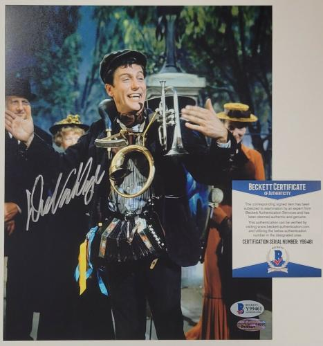 Dick Van Dyke autograph signed Mary Poppins 8x10 Photo #2 Autograph ~ BAS COA
