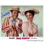 "Dick Van Dyke Autographed 11"" x 14"" Mary Poppins with Mary Photograph - Beckett COA"