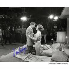 "Dick Van Dyke Autographed 8"" x 10"" The Dick Van Dyke Show Hugging Photograph - Beckett COA"