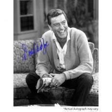 "Dick Van Dyke Autographed 8"" x 10"" The Dick Van Dyke Show Sitting Photograph - Beckett COA"