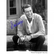 "Dick Van Dyke Autographed 8"" x 10"" The Dick Van Dyke Show Sitting Photograph - Beckett COA"