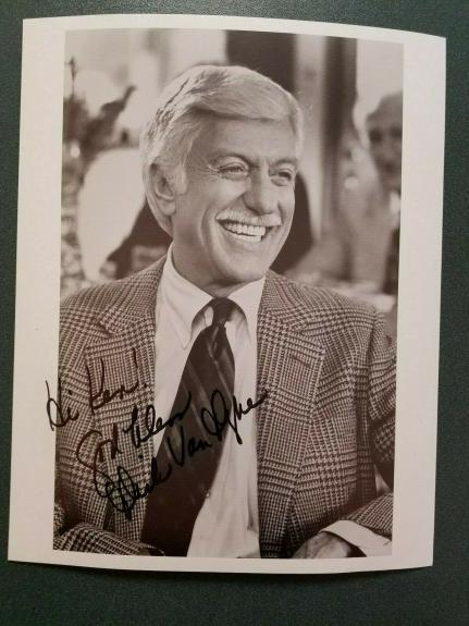 Dick Van Dyke autographed Photograph(pose 7) - JSA COA