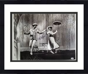 "DICK VAN DYKE ""Bert"" Signed Disney MARY POPPINS 16x20 Canvas Print PSA/DNA COA!"
