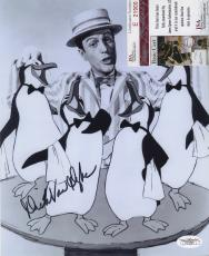 Dick Van Dyke Bw Signed Autographed Photo Mary Poppins Jsa Coa