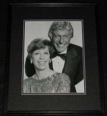 Dick Van Dyke & Carol Burnett Framed 11x14 Photo Poster