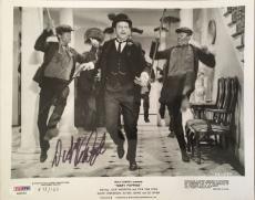 DICK VAN DYKE Hand Signed Original 1963-64 Mary Poppins 8x10 Photo 5 PSA/DNA COA
