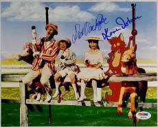 DICK VAN DYKE KAREN DOTRICE MARY POPPINS SIGNED 8x10 PHOTO PSA/DNA DISNEY AUTO B