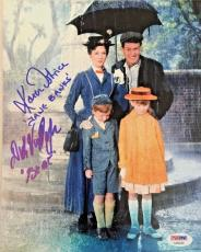 DICK VAN DYKE Karen Dotrice Signed MARY POPPINS Photo Autograph BAS Beckett COA!