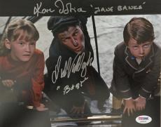 DICK VAN DYKE Karen Dotrice Signed MARY POPPINS Photo Autograph BAS Beckett COA