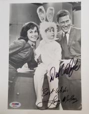DICK VAN DYKE & Larry Mathews Signed Dick Van Dyke Show 8x10 Photo PSA/DNA COA