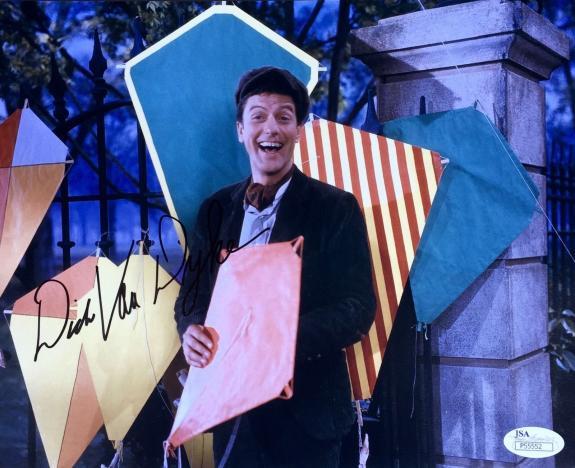 Dick Van Dyke (Mary Poppins) Signed 8x10 Photo JSA P55552