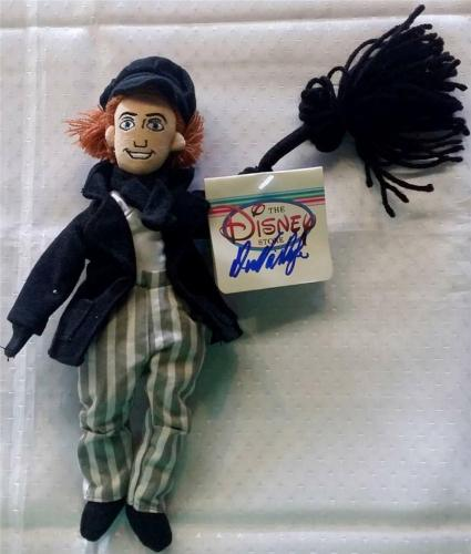 Dick Van Dyke Mary Poppins Signed Auto Bert Bean Bag Doll Figurine Psa/dna