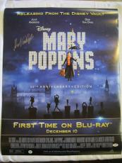 Dick Van Dyke Mary Poppins Signed Poster Auto Psa/dna Autograph