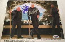 DICK VAN DYKE & MICKEY ROONEY Signed Night at the Museum 8x10 Photo PSA/DNA COA