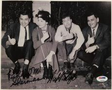 DICK VAN DYKE + RICHARD M. SHERMAN Signed 8x10 Photo Mary Poppins PSA/DNA COA