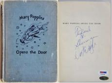 Dick Van Dyke Richard M. Sherman Signed Disney's Mary Poppins Book PSA Z