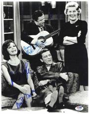 Dick Van Dyke Show Cast Autographed Signed 11x14 Photo Certified PSA/DNA LOA