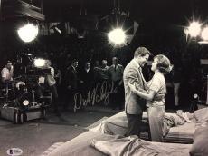 DICK VAN DYKE Signed 11x14 Photo Mary Tyler Moore Beckett BAS COA The DVD Show