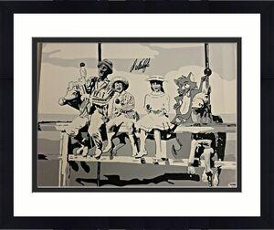 DICK VAN DYKE Signed 16x20 Original Painting Canvas #10 Custom 1/1 PSA/DNA COA