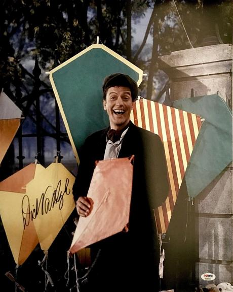 DICK VAN DYKE Signed 16X20 Photo MARY POPPINS AUTOGRAPHED PSA/DNA COA!