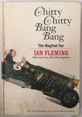 DICK VAN DYKE Signed 1964 Chitty Chitty Bang Bang Hardcover Book PSA/DNA COA
