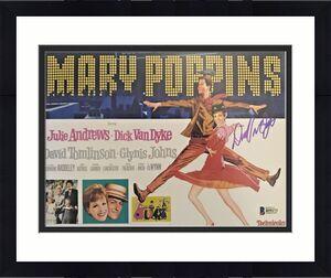 DICK VAN DYKE Signed 8x10 Photo MARY POPPINS BAS Beckett COA I
