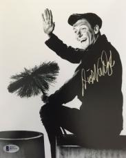DICK VAN DYKE Signed 8x10 Photo MARY POPPINS BAS COA Autograph The DVD Show C