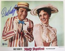 DICK VAN DYKE Signed 8x10 Photo MARY POPPINS BAS COA Autograph The DVD Show E