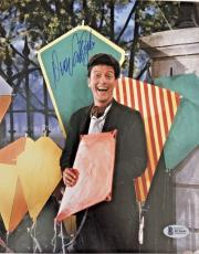 DICK VAN DYKE Signed 8x10 Photo MARY POPPINS BAS COA Autograph The DVD Show H