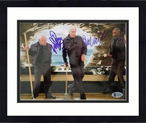 Dick Van Dyke Mickey Rooney Signed 8x10 Photo Night At The Museum Auto Bas Coa