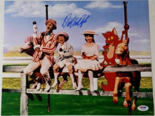 DICK VAN DYKE Signed Autograph Auto MARY POPPINS 11x14 Photo PSA DNA COA (N)