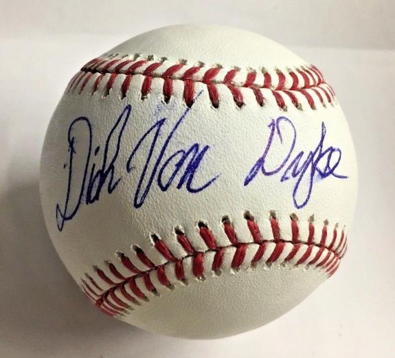 DICK VAN DYKE Signed BASEBALL MARY POPPINS CHITTY CHITTY BANG BAS COA AUTO B