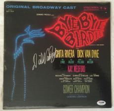 DICK VAN DYKE Signed BYE BYE BIRDIE Original LP Record Proof PSA/DNA COA Proof