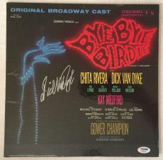 DICK VAN DYKE Signed BYE BYE BIRDIE Original LP Record Proof PSA/DNA COA Proof A