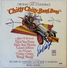 Dick Van Dyke Signed Chitty Chitty Bang Bang Auto Album Cover PSA/DNA #Y47230