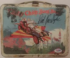 DICK VAN DYKE Signed CHITTY CHITTY BANG BANG Vintage Lunchbox Pail PSA/DNA COA