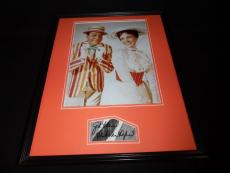 Dick Van Dyke Signed Framed 16x20 Photo Display Mary Poppins