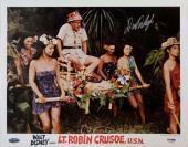 Autographed LaDainian Tomlinson Photo - Dick Van Dyke Lt Robin Crusoe U S N 11x14 PSA Y10476