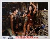 Signed Tomlinson Photograph - Dick Van Dyke Lt Robin Crusoe U S N 11x14 PSA Y10479