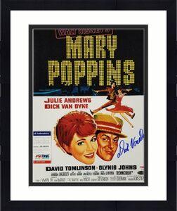 Dick Van Dyke signed Mary Poppins 11x14 Movie Poster Photo Auto ~ PSA/DNA COA