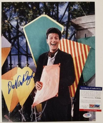 Dick Van Dyke signed Mary Poppins 11x14 Photo #1 Autograph ~ PSA/DNA COA
