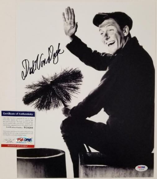 Dick Van Dyke signed Mary Poppins 11x14 Photo #6 Autograph ~ PSA/DNA COA