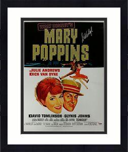 DICK VAN DYKE Signed Mary Poppins 16x20 Canvas Photo #1 BERT Auto ~ PSA/DNA COA