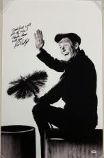 DICK VAN DYKE Signed Mary Poppins 20x30 Photo + QUOTE Autograph ~ PSA/DNA COA