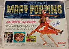 DICK VAN DYKE Signed Mary Poppins 22x28 Original Poster BERT Auto ~ PSA/DNA COA