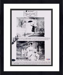 Dick Van Dyke Signed Mary Poppins 8x10 Photo Photograph PSA Y10504 Auto
